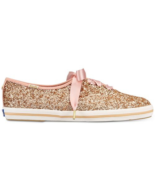f62caab59759 kate spade new york Glitter Lace-Up Sneakers   Reviews - Athletic ...