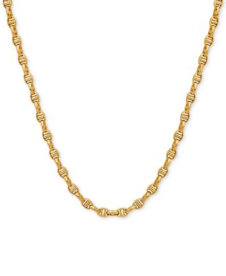 22 Italian Gold Anchor Link Chain in Solid 10k Gold Necklaces