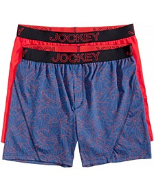 Men's 2-Pack Knit No Bunch Boxer