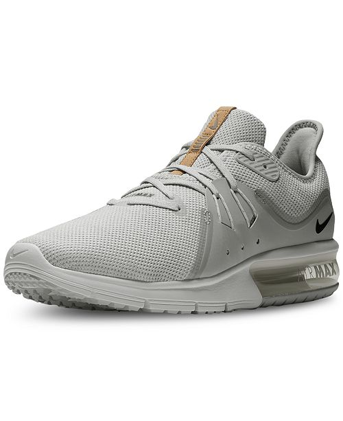 new york 541ab cf779 Nike Men's Air Max Sequent 3 Running Sneakers from Finish Line ...
