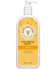 Burt's Bees Baby Bee Nourishing Lotion - Original, 12 oz