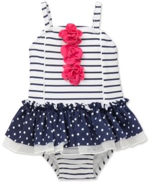 Little Me Striped Swimsuit,...