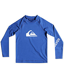 Quiksilver Graphic-Print Rash Guard, Toddler Boys