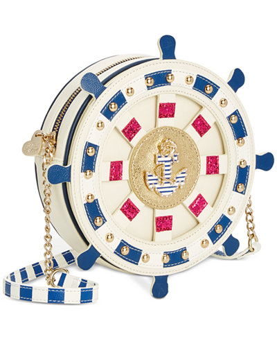 Betsey Johnson Seas The Day Mini Crossbody
