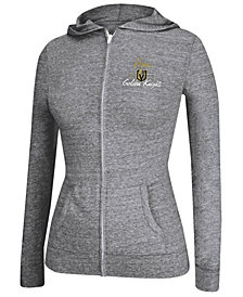 adidas Women's Vegas Golden Knights Full-Zip Script Hoodie