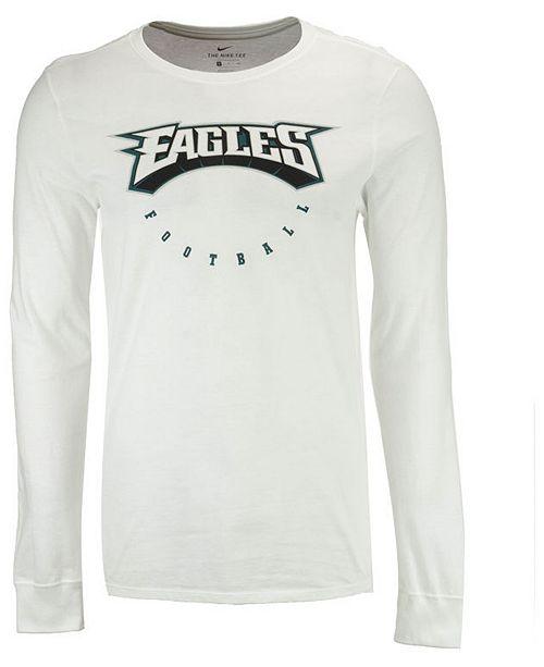 Nike Men s Philadelphia Eagles Retro 97 Long Sleeve T-Shirt - Sports ... 24551493b