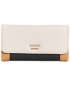 GUESS Huntley Slim Wristlet Wallet