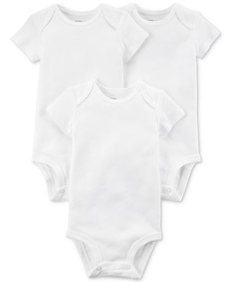 Carters Little Planet Organics 3-Pack Cotton Bodysuits, Baby Boys or Girls