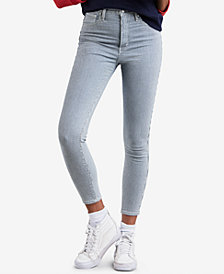 Levi's® Mile High Pinstriped Skinny Ankle Jeans