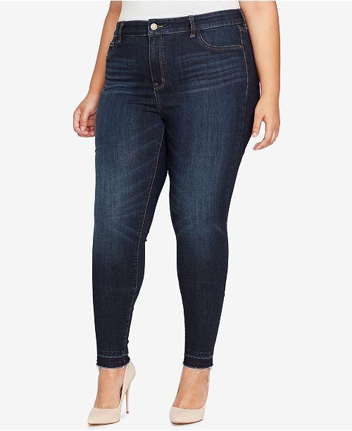 WILLIAM RAST Trendy Plus Size High-Rise Skinny Jeans