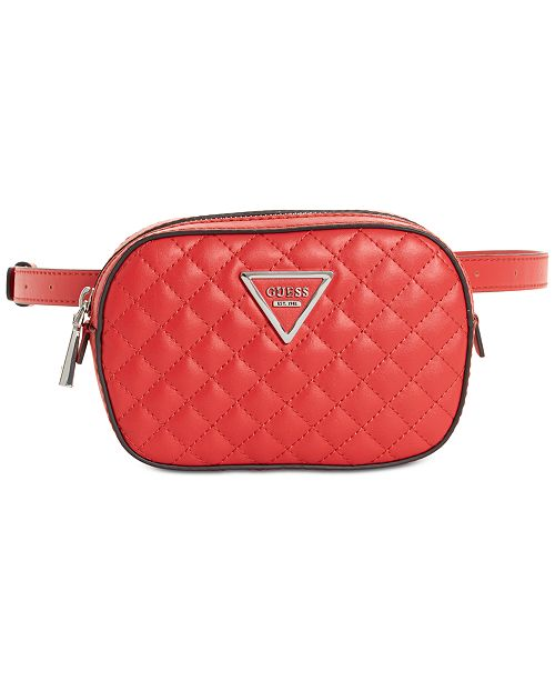 3059b2f696e1 GUESS Varsity Pop Mini Belt Bag   Reviews - Handbags ...