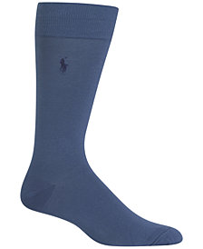 Polo Ralph Lauren Men's Flat-Knit Dress Socks