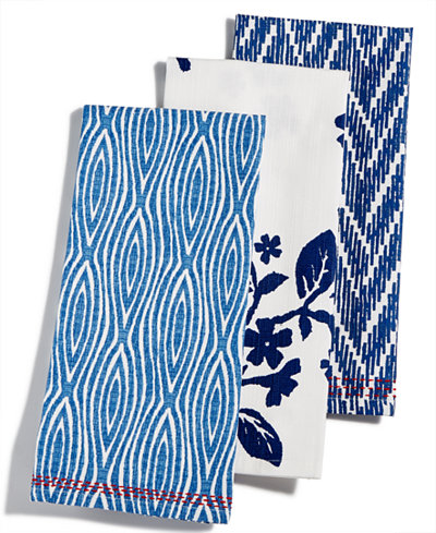 Martha Stewart Collection Global Kitchen Towels, Created for Macy\'s ...