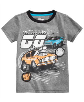 Car-Print T-Shirt, Little Boys, Created for Macy's