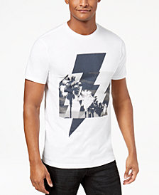 I.N.C. Men's Palm Bolt Graphic T-Shirt, Created for Macy's