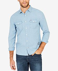 Nautica Men's Chambray Shirt