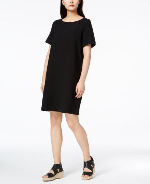 Eileen Fisher Tencel Textured Knit Shift Dress 5611304