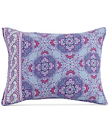 Vera Bradley Purple Passion King Sham