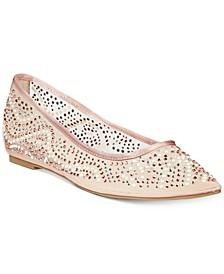 Tonina Pointed-Toe Flats, Created for Macy's