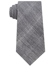 Calvin Klein Men's Halk Plaid Contracts Tie
