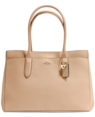 9d003812 COACH Bailey Carryall Tote in Pebble Leather & Reviews - Handbags ...