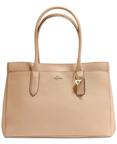 a8bdaf3ed9 COACH Bailey Carryall Tote in Pebble Leather   Reviews - Handbags ...