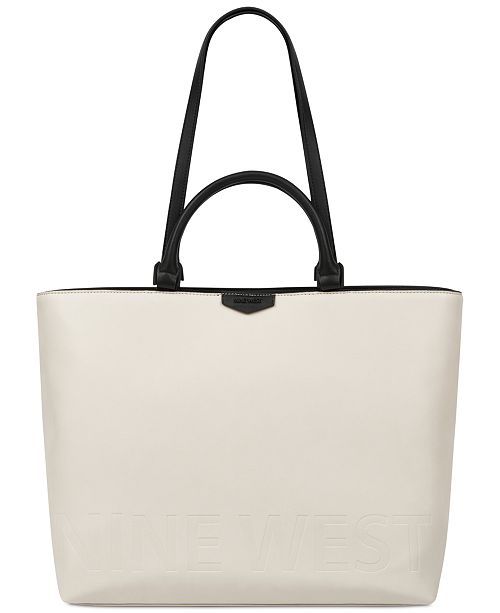 Nine West Cammie Extra-Large Tote - Handbags   Accessories - Macy s 9481eccb9488e