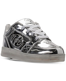 Heelys Little Boys' Premium 1 Lo Light-Up Skate Casual Sneakers from Finish Line