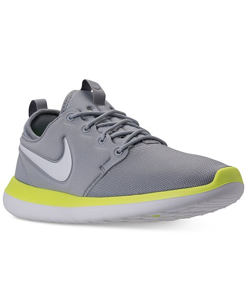 3a4fa9ea2e1 Nike Men s Roshe Two Casual Sneakers from Finish Line   Reviews ...