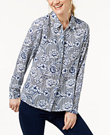 I.N.C. Printed Shirt, Created for Macy's