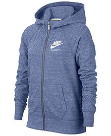 Nike Sportswear Zip-Up Hoodie, Big Girls