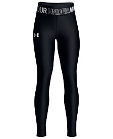 Under Armour HeatGear Armour Leggings, Big Girls