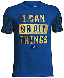 Under Armour All Things-Print T-Shirt, Big Boys