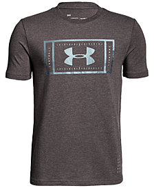 Under Armour Football-Print T-Shirt, Big Boys