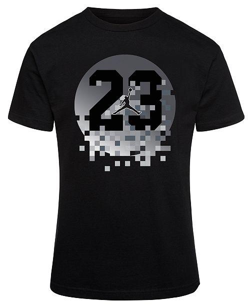 acd1e53c2c Jordan 23-Print Cotton T-Shirt, Big Boys & Reviews - Shirts & Tees ...