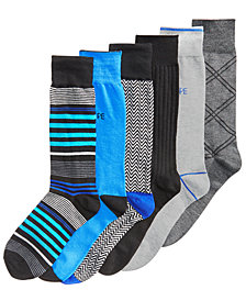 Perry Ellis Men's 6-Pk. Dress Socks