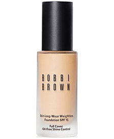 Bobbi Brown Skin Long-Wear Weightless Foundation SPF 15, 1 oz
