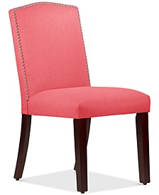 Callon Linen Nail Button Dining Chair