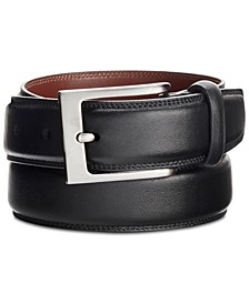 Portfolio Men's Full-Grain Leather Belt