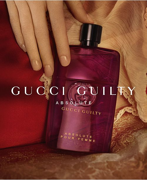 Gucci Guilty Absolute Pour Femme Eau De Parfum Fragrance Collection