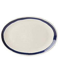 Lenox Market Place Indigo Oval Platter