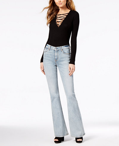 7 For All Mankind Mid-Rise Flared Ali Jeans