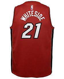 Hassan Whiteside Miami Heat Statement Swingman Jersey, Big Boys (8-20)