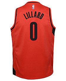 Nike Damian Lillard Portland Trail Blazers Statement Swingman Jersey, Big Boys (8-20)