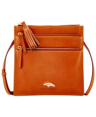 Denver Broncos Florentine Triple Zip Crossbody Bag