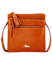 Dooney & Bourke Denver Broncos Florentine Triple Zip Crossbody Bag
