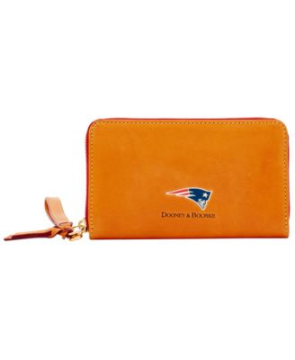 New England Patriots Florentine Zip Around Wallet