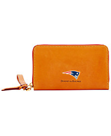 Dooney & Bourke New England Patriots Florentine Zip Around Wallet