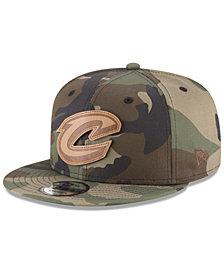 New Era Cleveland Cavaliers Camo 9FIFTY Snapback Cap