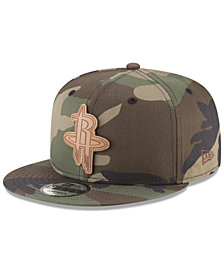 New Era Houston Rockets Camo 9FIFTY Snapback Cap